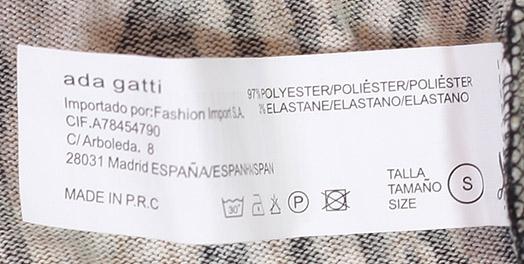 Фактурное платье-свитер с эффектом крупной вязки от Ada Gatti.