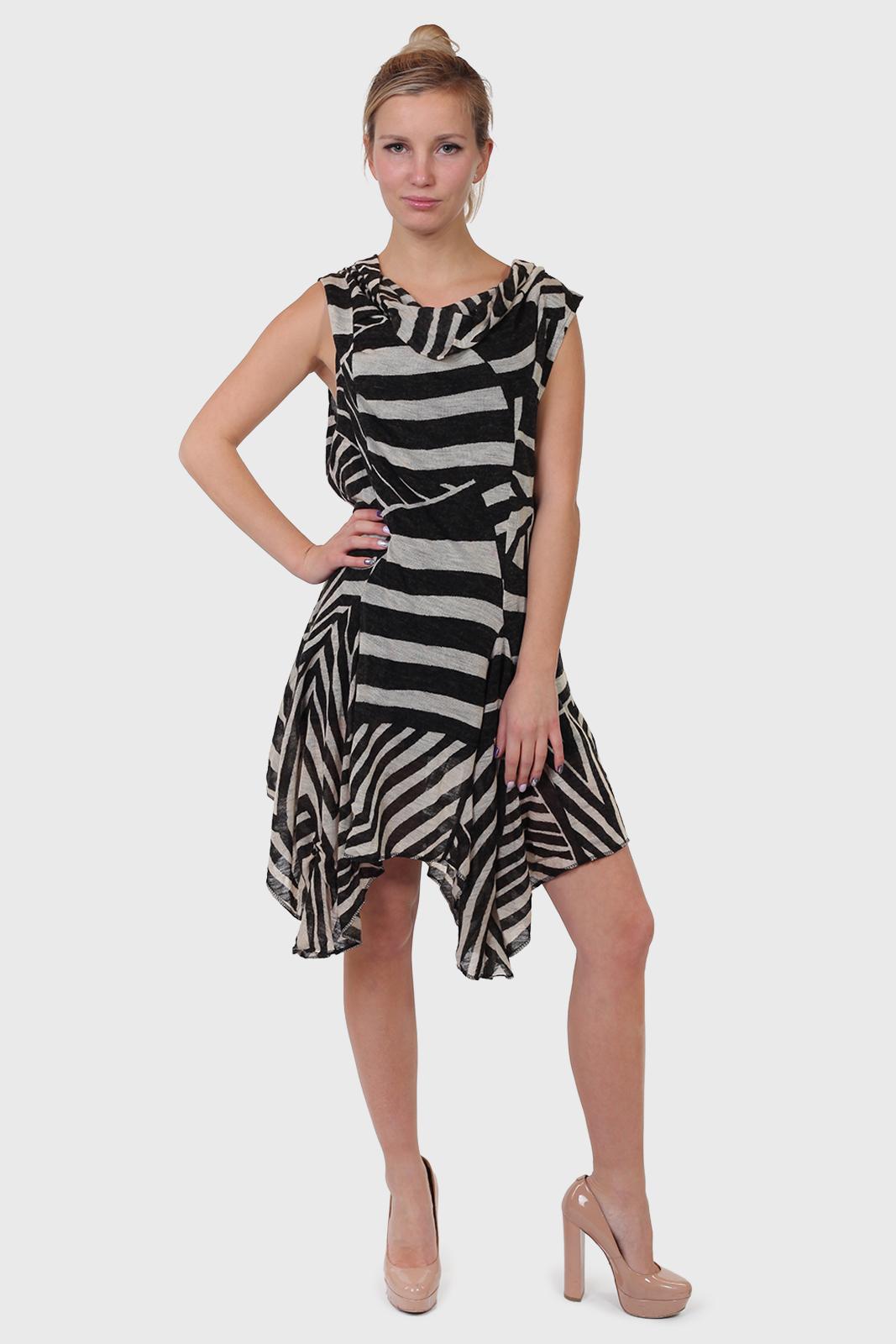 Асимметричное женское платье The Pyramid Collection