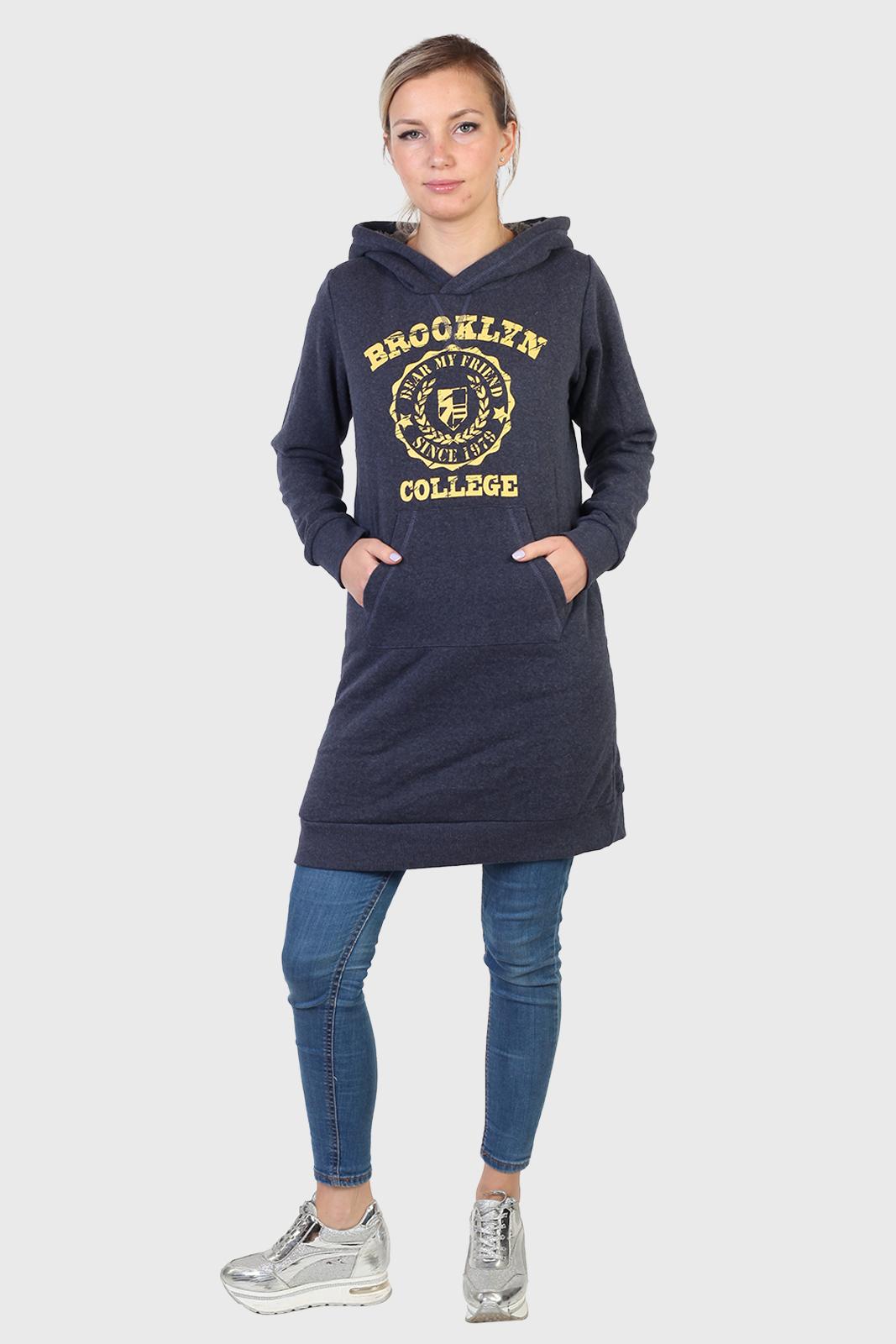 Платье толстовка с капюшоном от TuTuanna