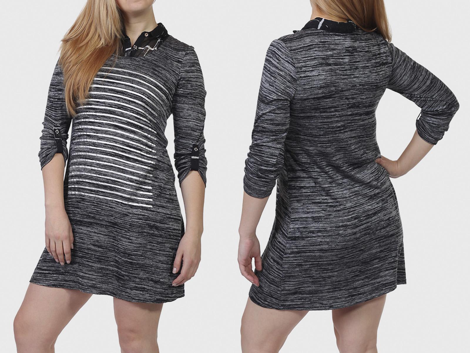Стройнящее платье туника Le Grenier.