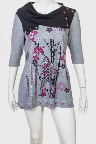 Платье-туника бохо от Legrenier.