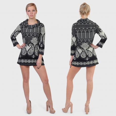 Трикотажное платье туника Jolie Foret.