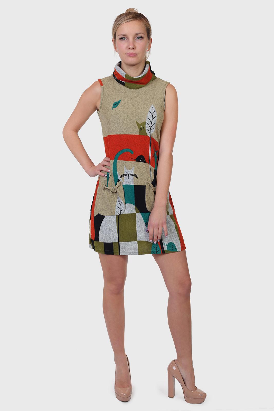 Купить короткое оригинальное платье в интернет магазине Военпро