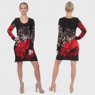 Цветочная роскошь! Платье-туника Macy Brown.