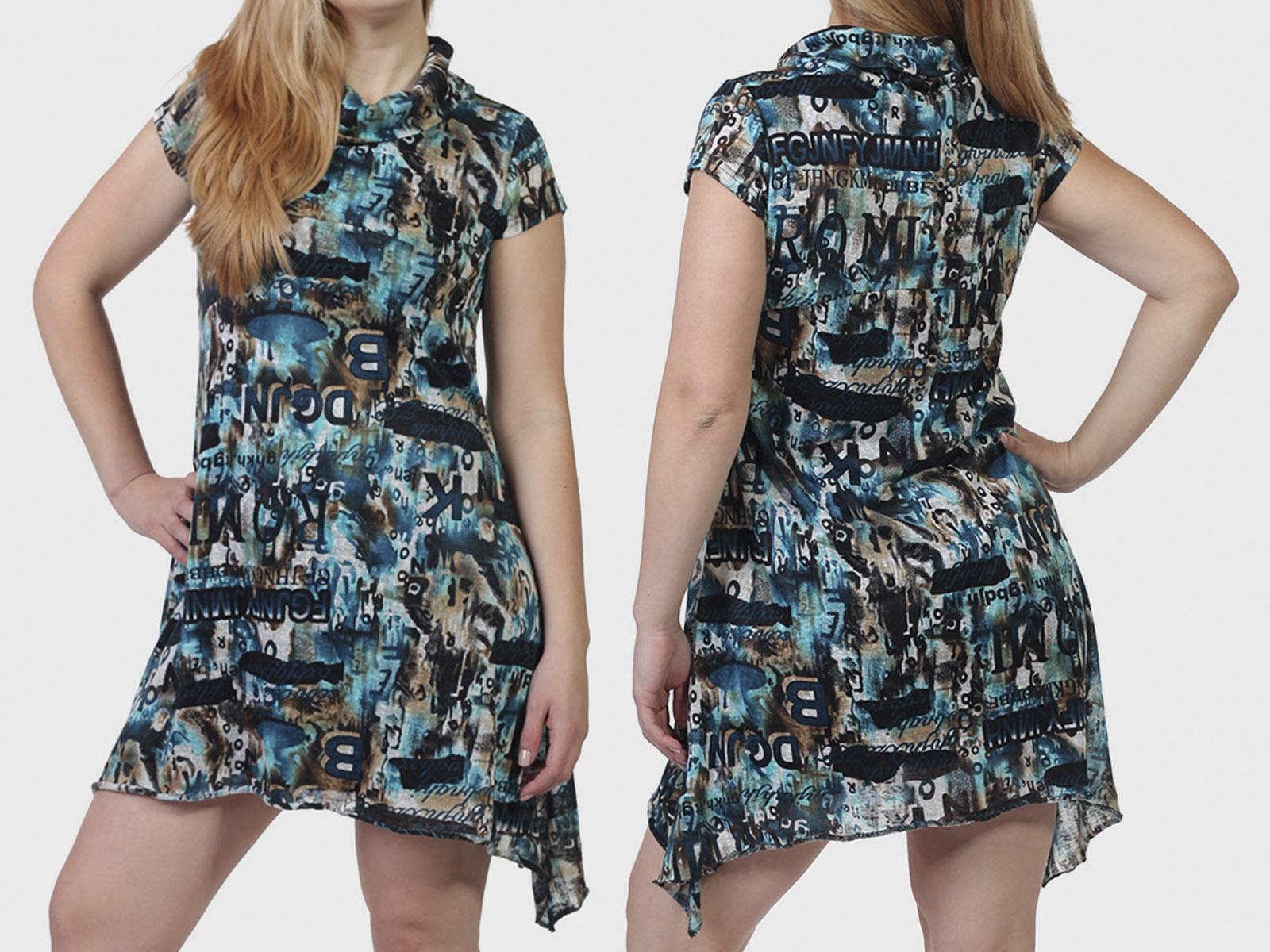 Молодежное платье-туника MinKas.