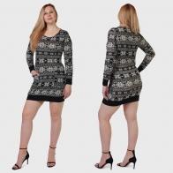 Соблазн от NEW SAKS! Трикотажное платье-туника на осень-зиму.