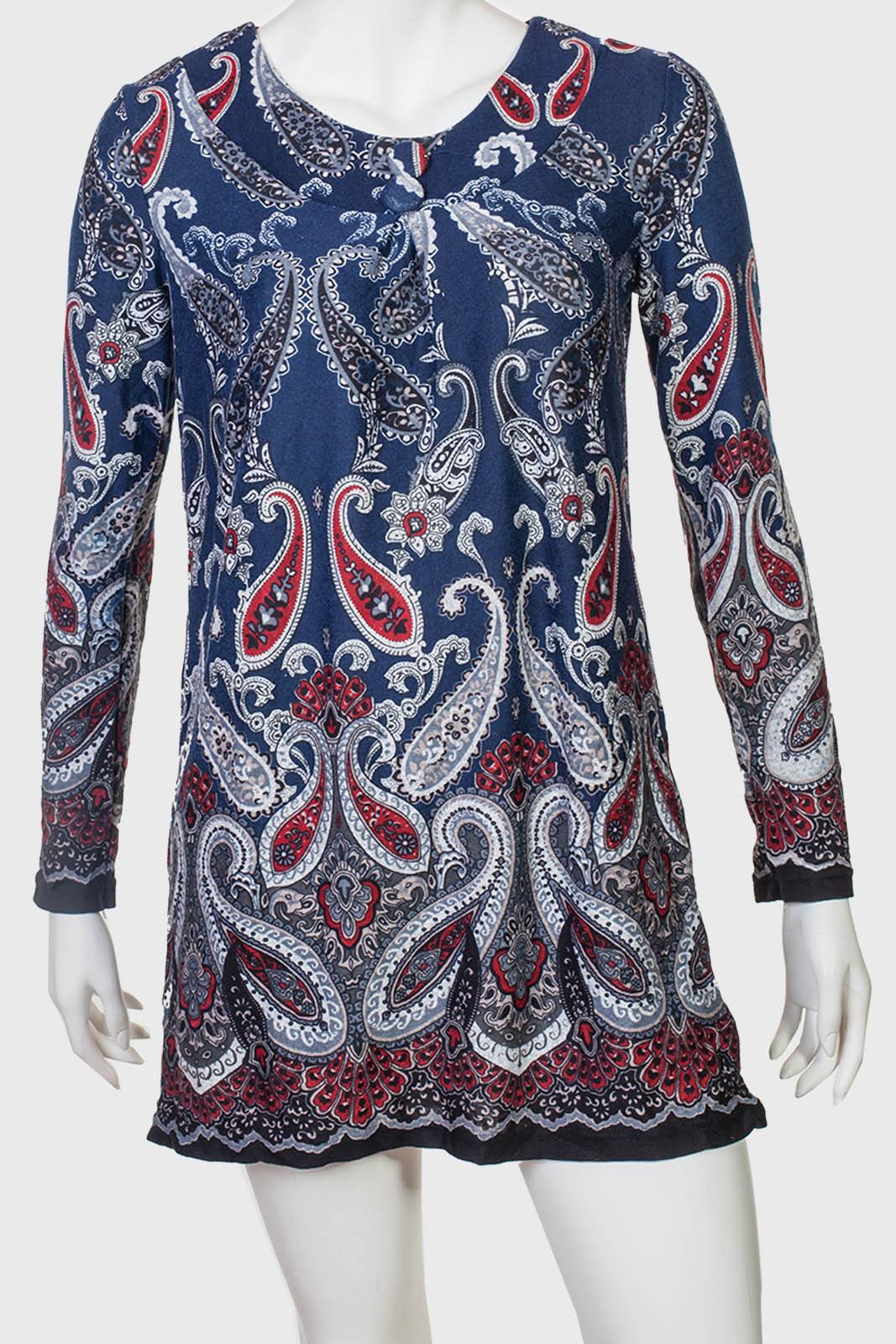 Платье-туника в русском стиле Collexion.