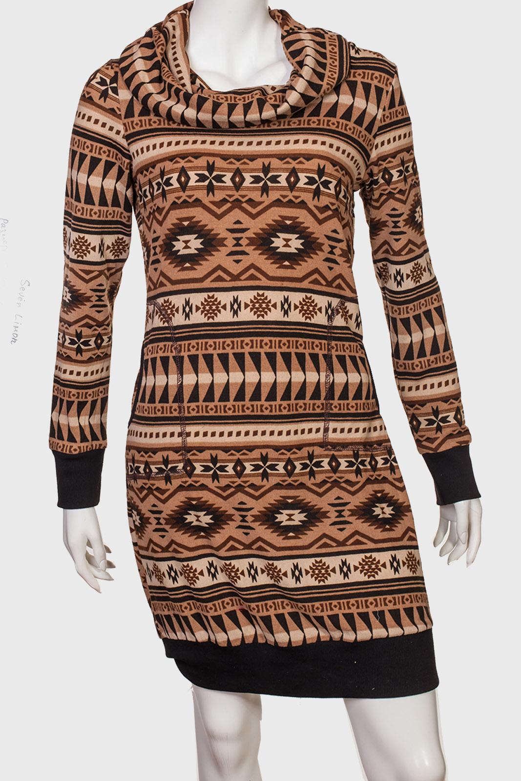Платье в этническом стиле от Seven Lemon