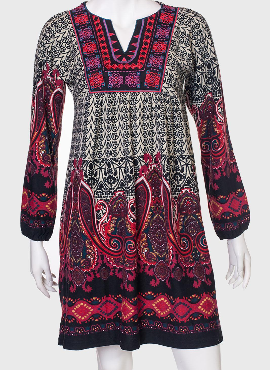 Эффектное платье в этно-стиле от Adatti
