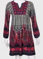 Эффектное платье в этно-стиле от Ada gatti