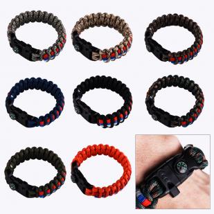 Плетёный браслет для мужчин разных цветов