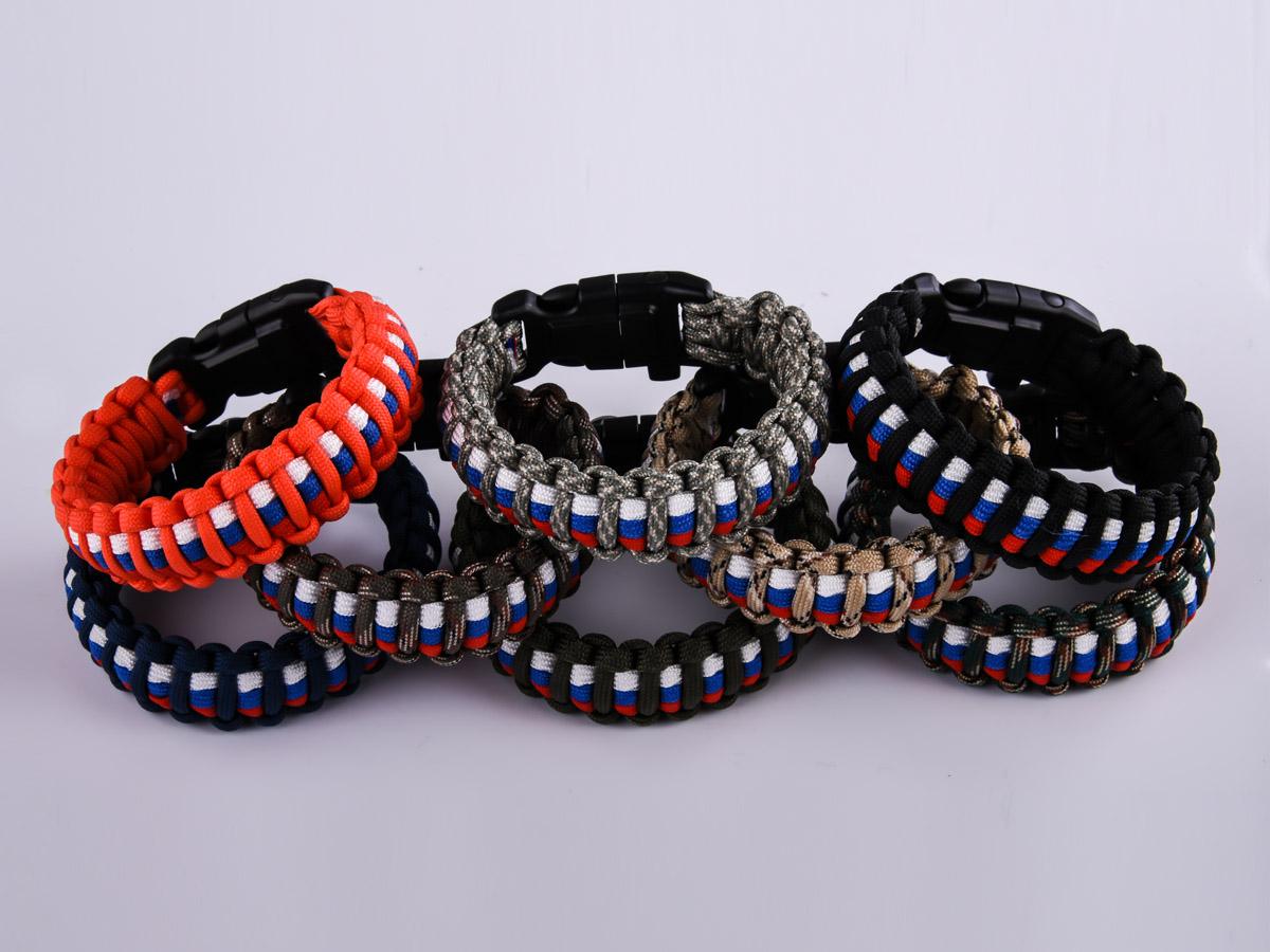 Заказать плетёный браслет для мужчин