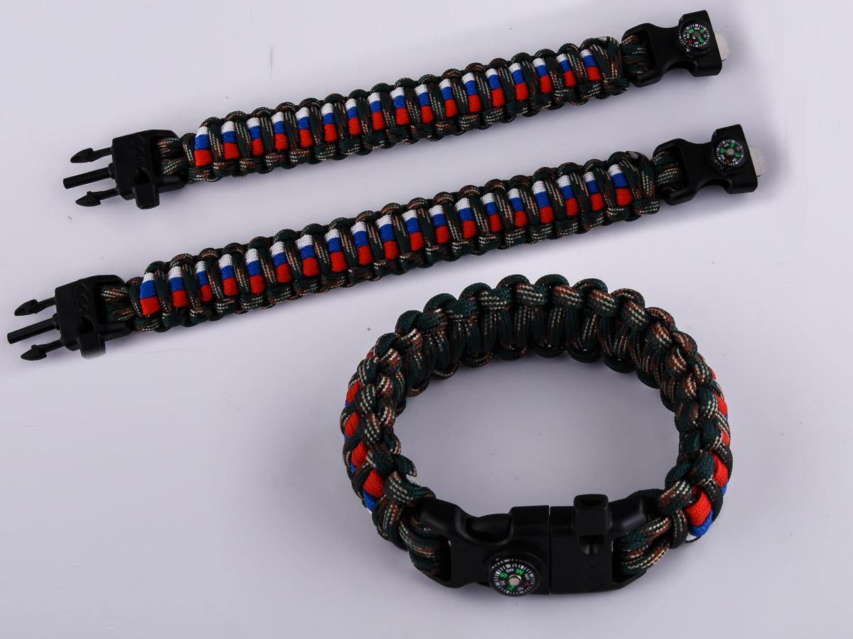 Высококачественный плетёный браслет для мужчин