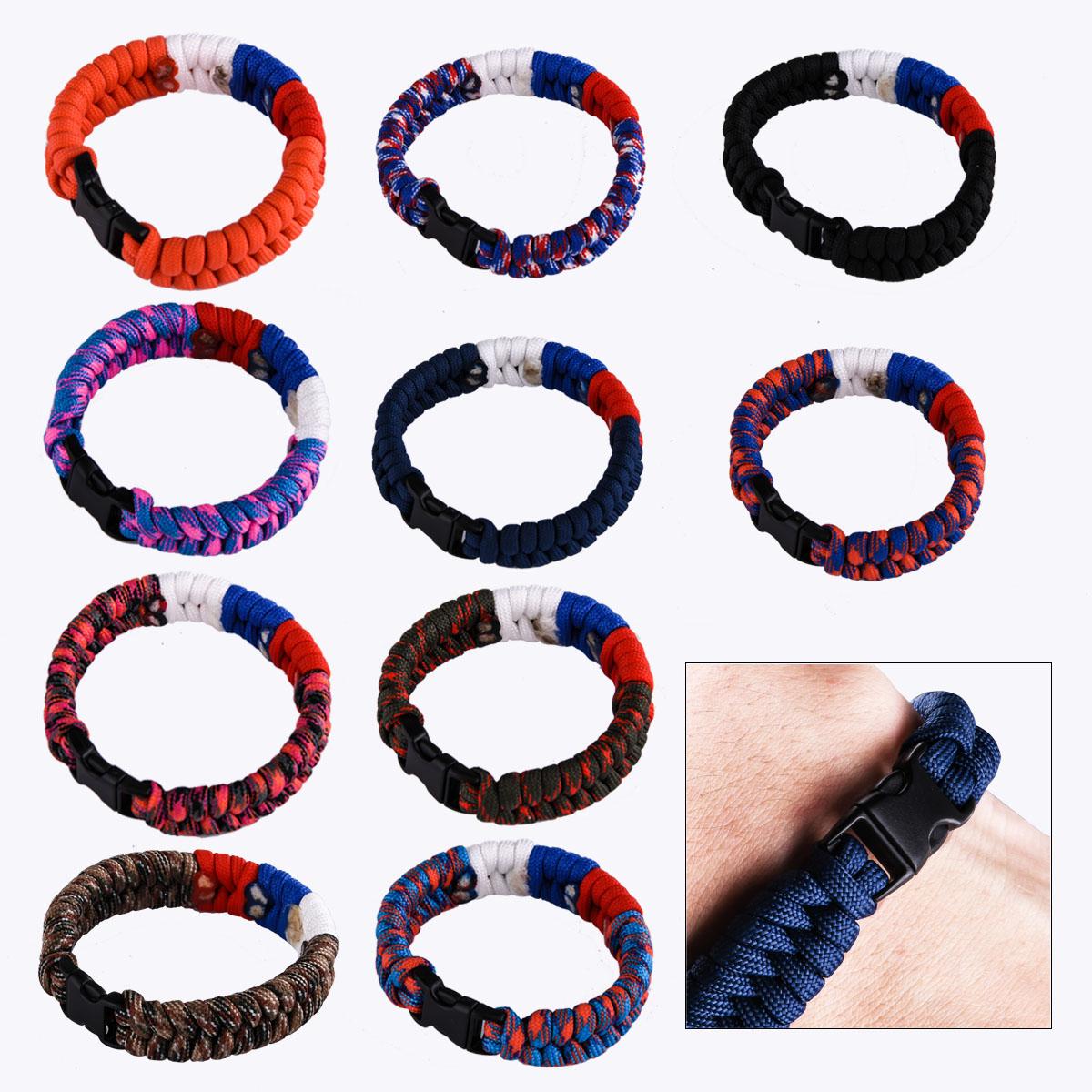 Плетёные браслеты из шнура только в Военпро