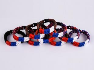 Заказать плетёный браслет из шнура