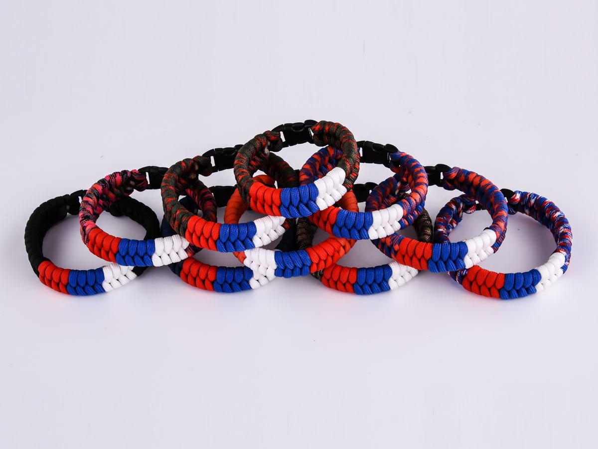 Заказать плетёный браслет из верёвок