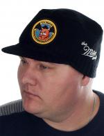 Плотная черная шапка с козырьком от Miller Way - купить по низкой цене