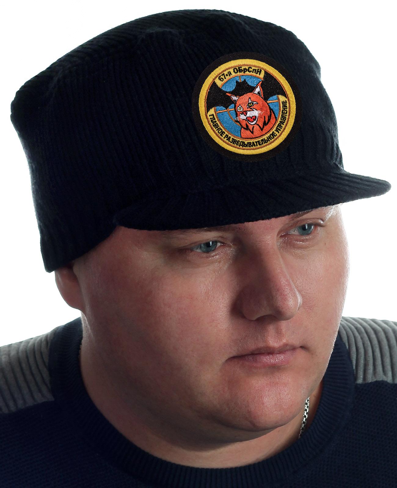 Купить плотную черную шапку с козырьком от Miller Way с доставкой онлайн