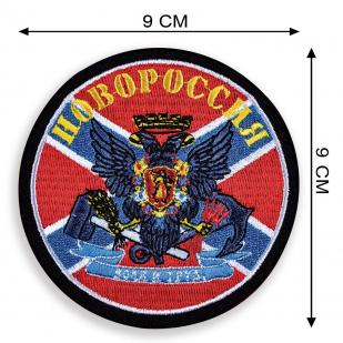 Плотная толстовка с шевроном Новороссии.