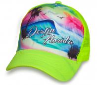 Пляжная бейсболка DESTIN FLORIDA.