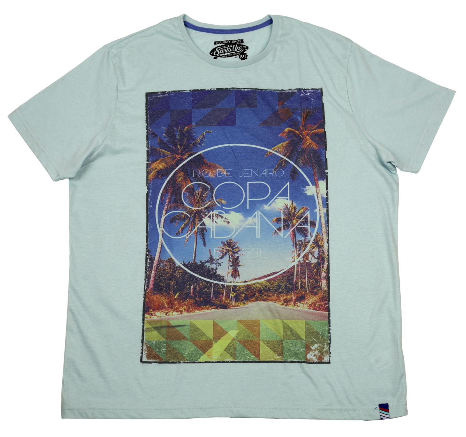 Пляжная футболка Holiday Shop. Фирменные вещи могут быть недорогими, заказывайте!