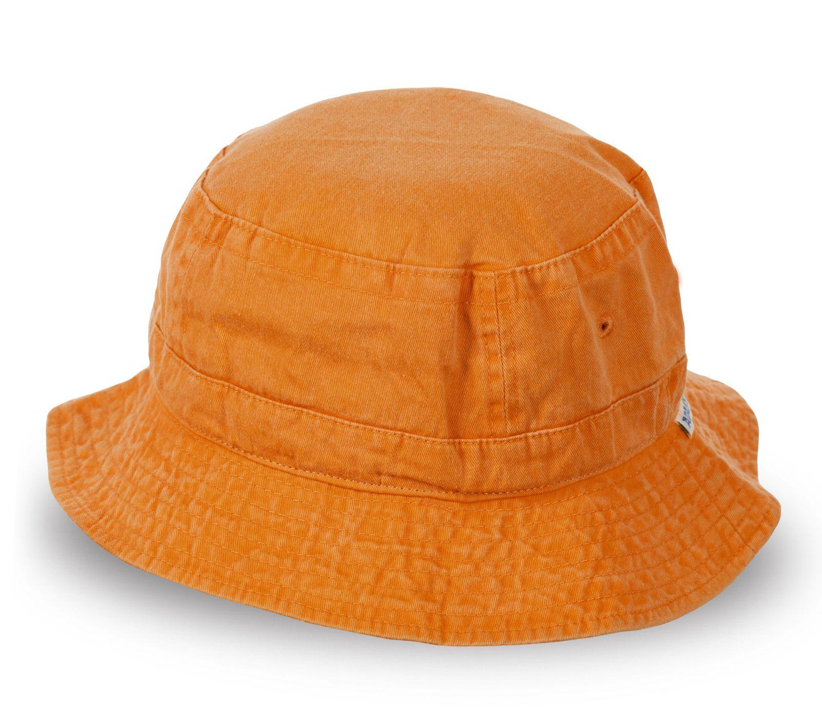 Пляжная панама оранжевая от Adams - купить оптом