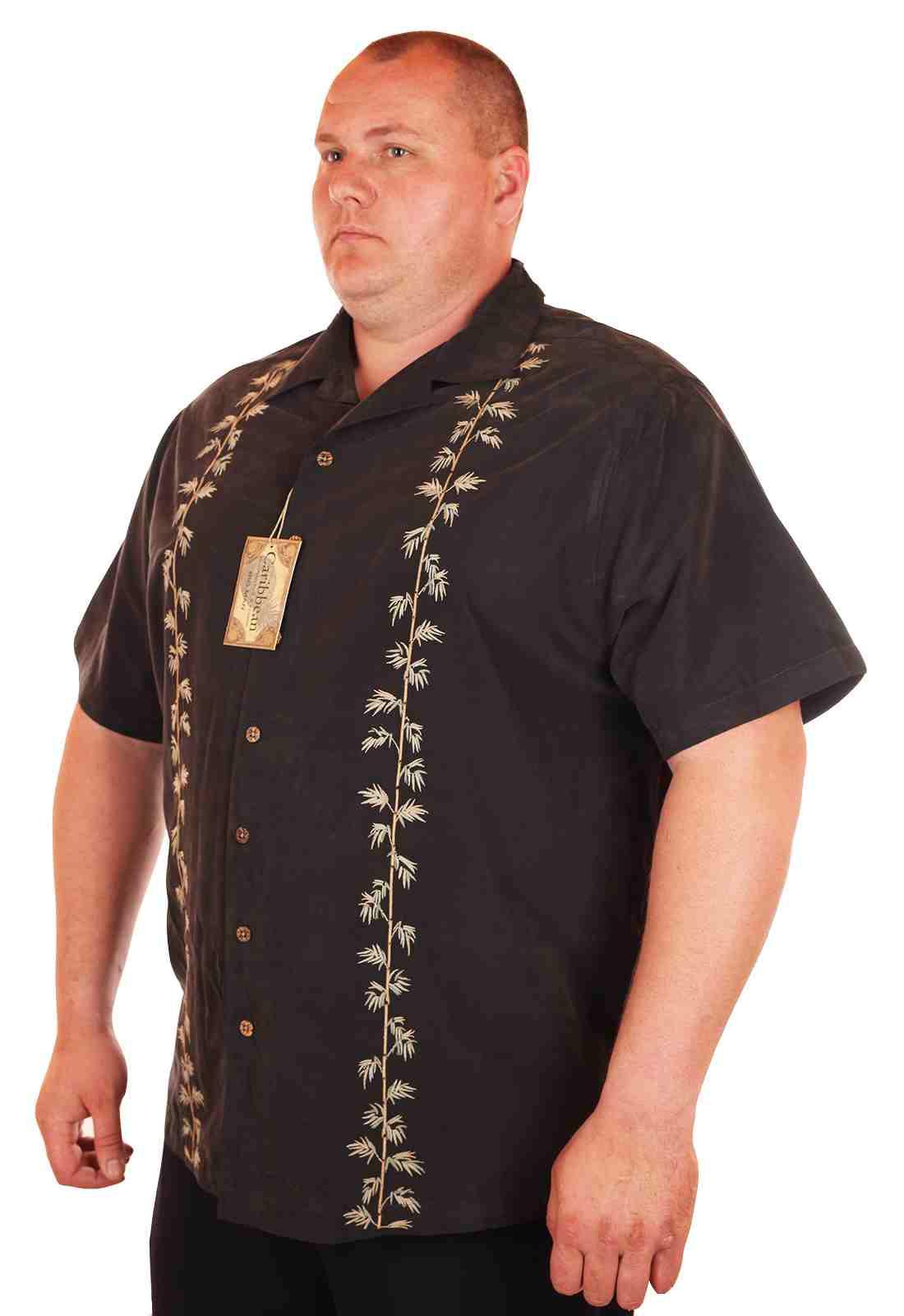 Пляжная рубашка Caribbean большого размера (батал)
