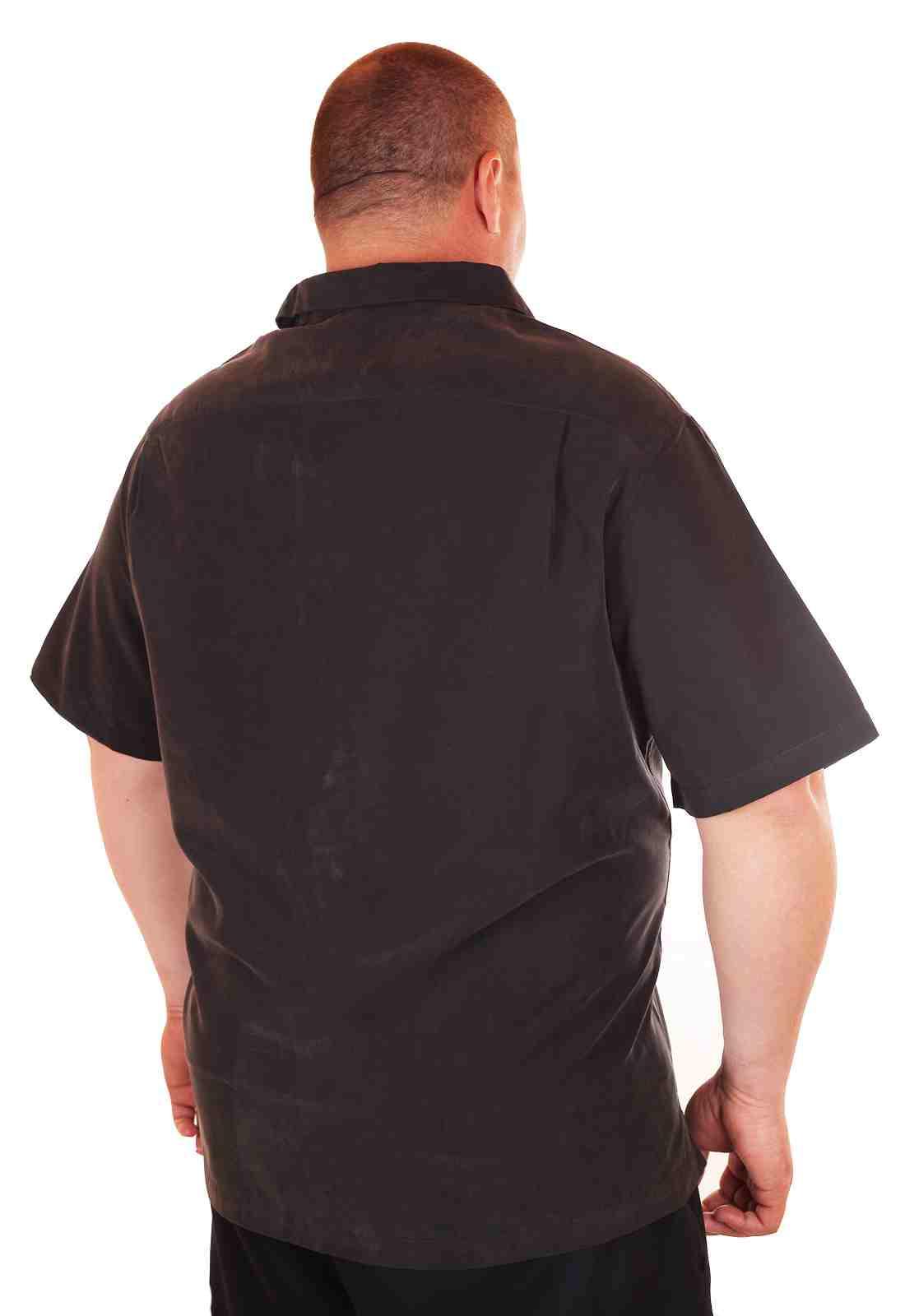 Пляжная рубашка Caribbean большого размера (батал)-2