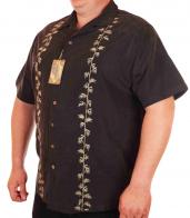 Фирменная мужская сорочка Caribbean Joe с рисунком.