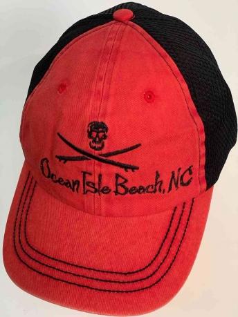 Пляжная яркая бейсболка Ocean Isle Beach.NC