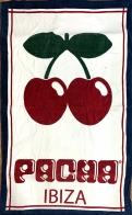 Пляжное большое полотенце Pacha Ibiza 3 в 1: покрывало, плед, подстилка.