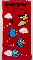 Пляжное махровое полотенце Angry Birds