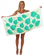 Пляжное махровое полотенце для всей семьи