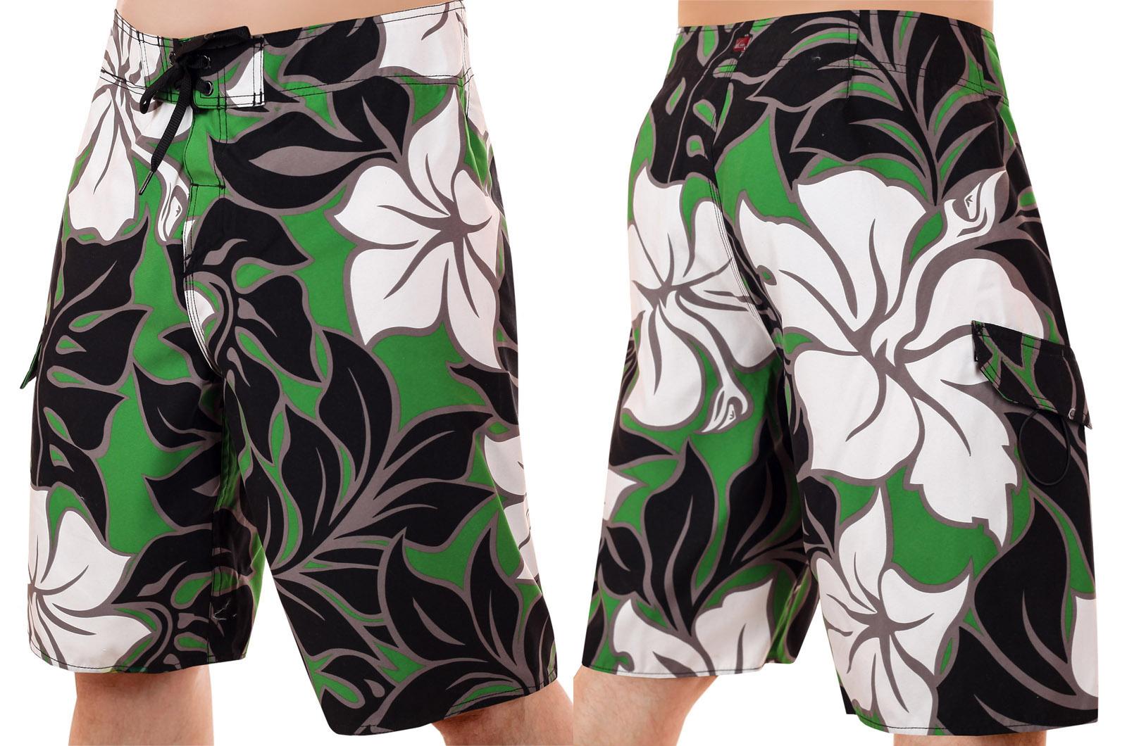 Недорогие пляжные бордшорты – надоедливые липучки заменены нейлоновыми шнурками. Снимай, надевай еще быстрее!