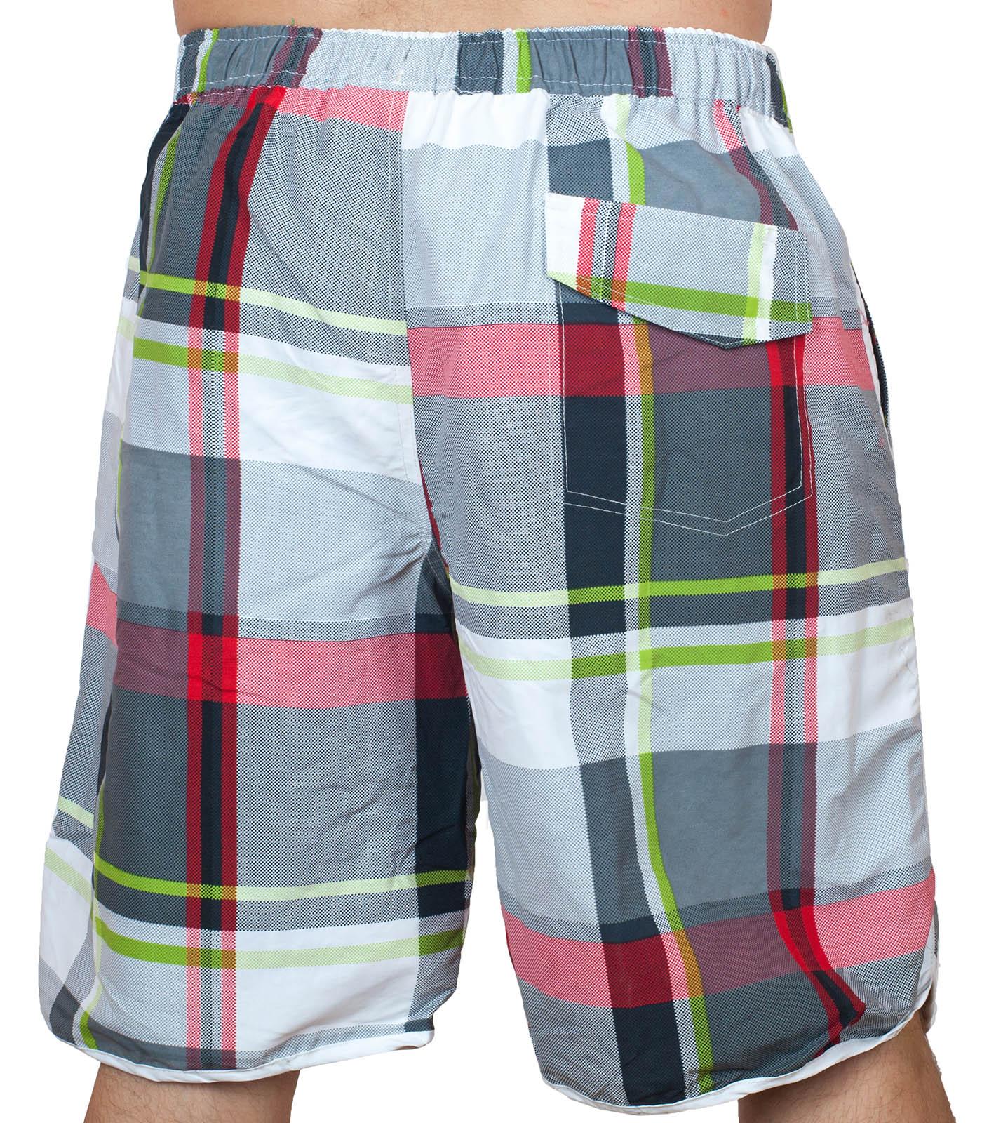 Пляжные клетчатые шорты для мужчин по лучшей цене