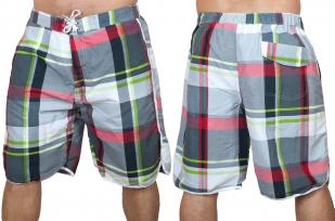 Пляжные клетчатые шорты для мужчин с доставкой