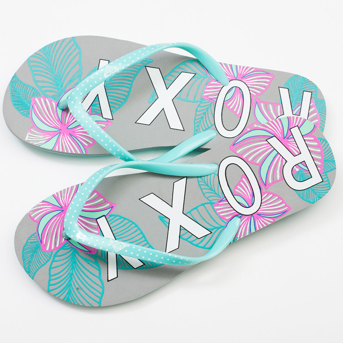 Купить женские пляжные шлепки Roxy онлайн