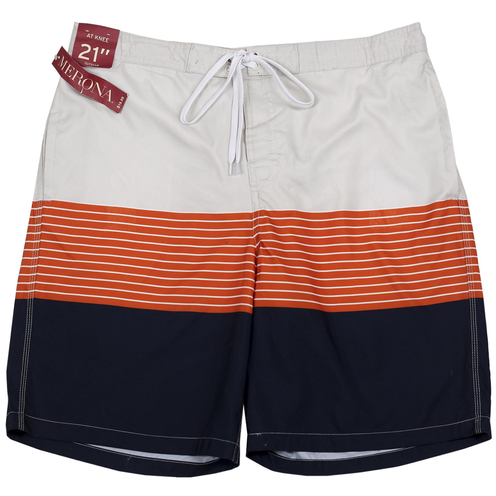Пляжные шорты Merona. Стильная полоска, мягкая ткань