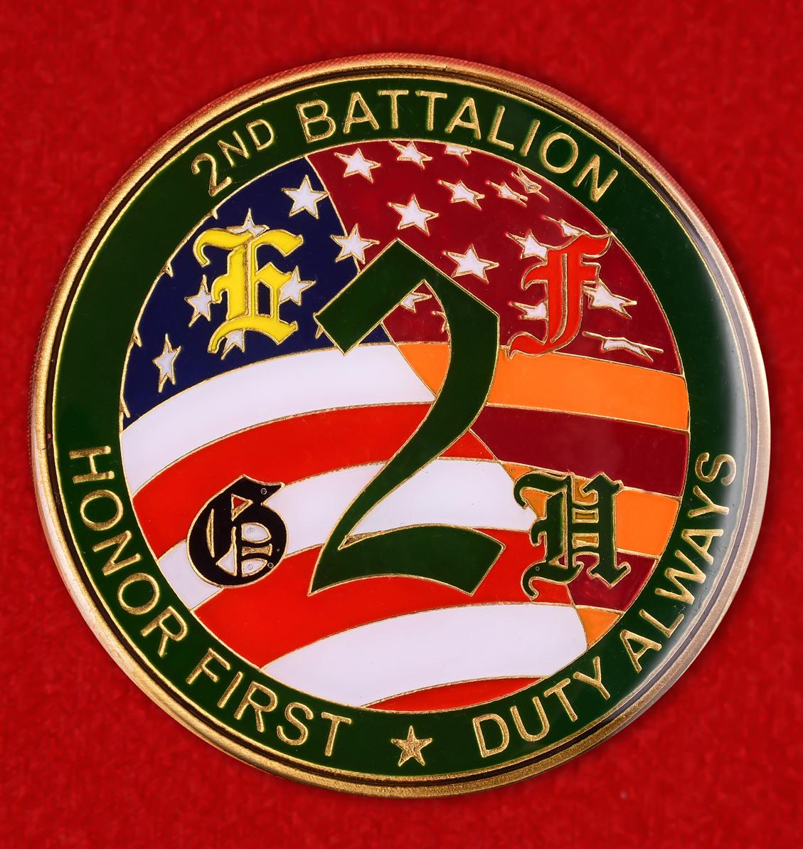 """Почетный знак """"Честь и долг"""" 2-го батальона Кадетского корпуса США"""
