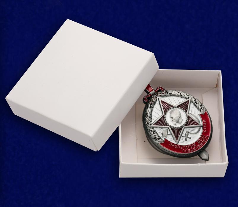 Почетный знак ОГПУ на подставке - в коробочке
