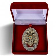 Почётный знак сотрудника МЧС России в футляре