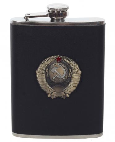 Подарочная фляжка с гербом СССР