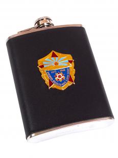 Подарочная фляжка ветерану ВВС СССР с накладкой