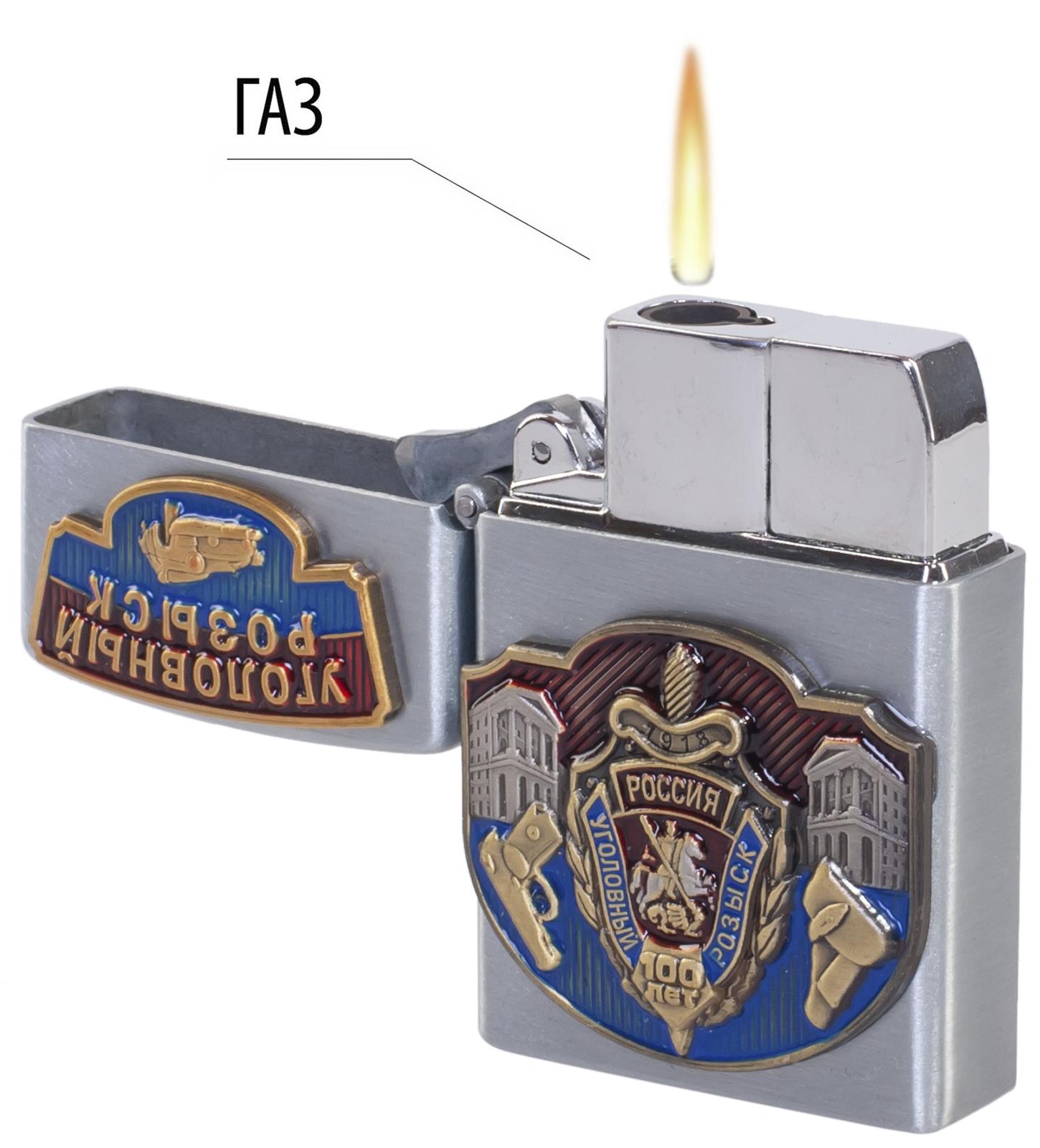 Подарочная зажигалка 100 лет УГРО