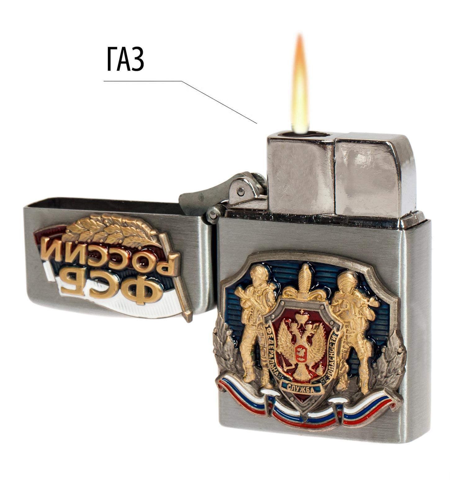 Подарочная зажигалка ФСБ