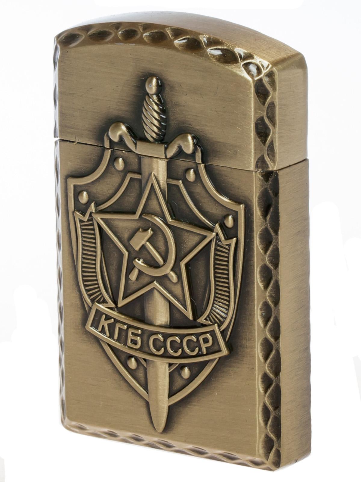 """Подарочная зажигалка """"КГБ СССР"""""""