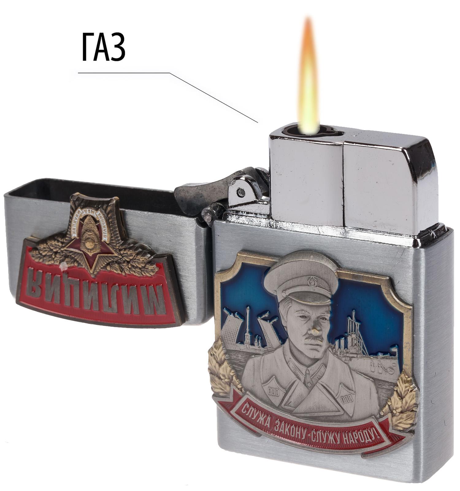 """Подарочная зажигалка """"Милиция"""""""
