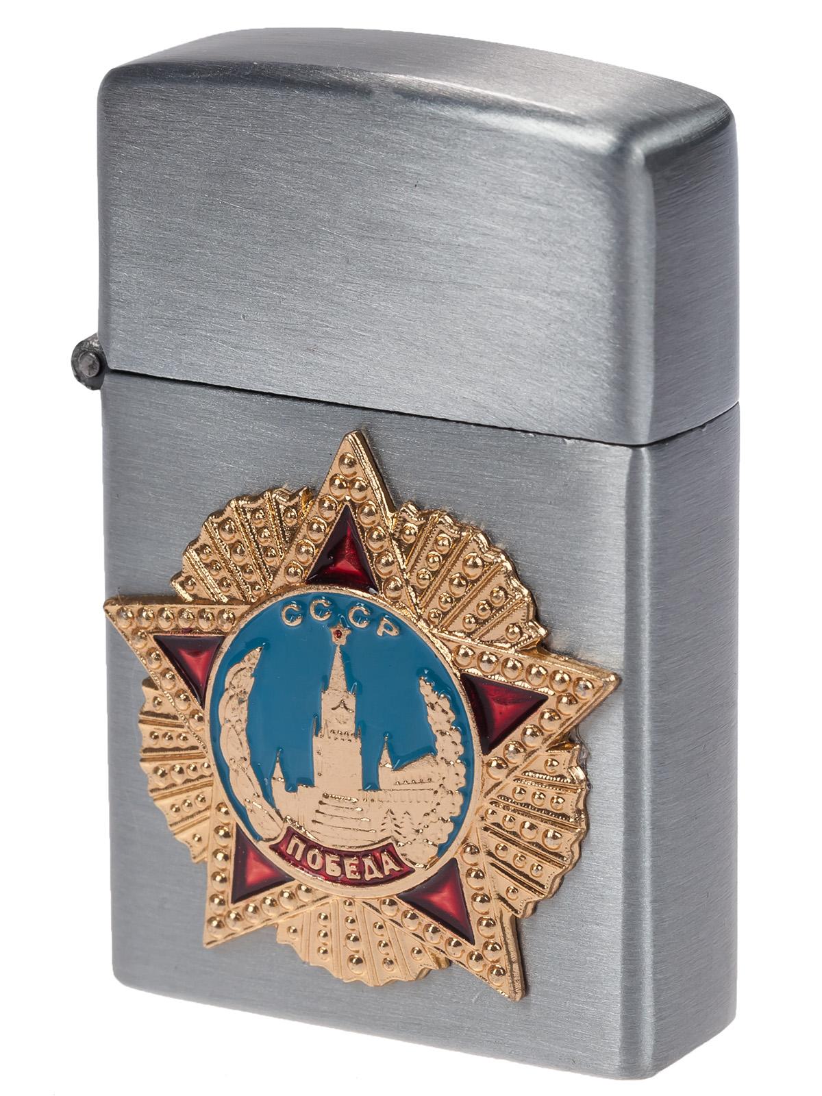 Заказать газовые зажигалки Zippo онлайн недорого к 9 мая