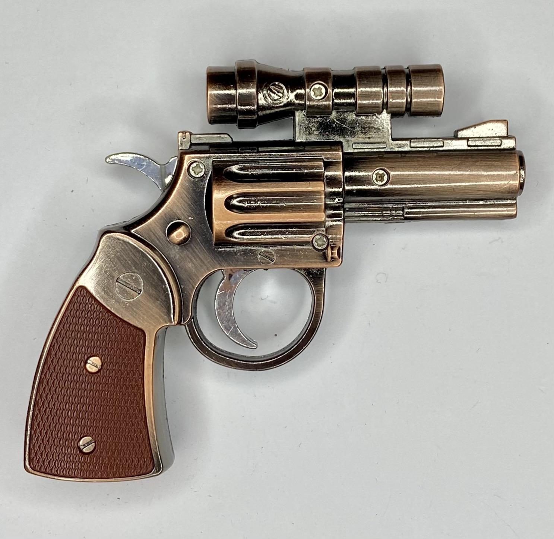 Подарочная зажигалка-пистолет