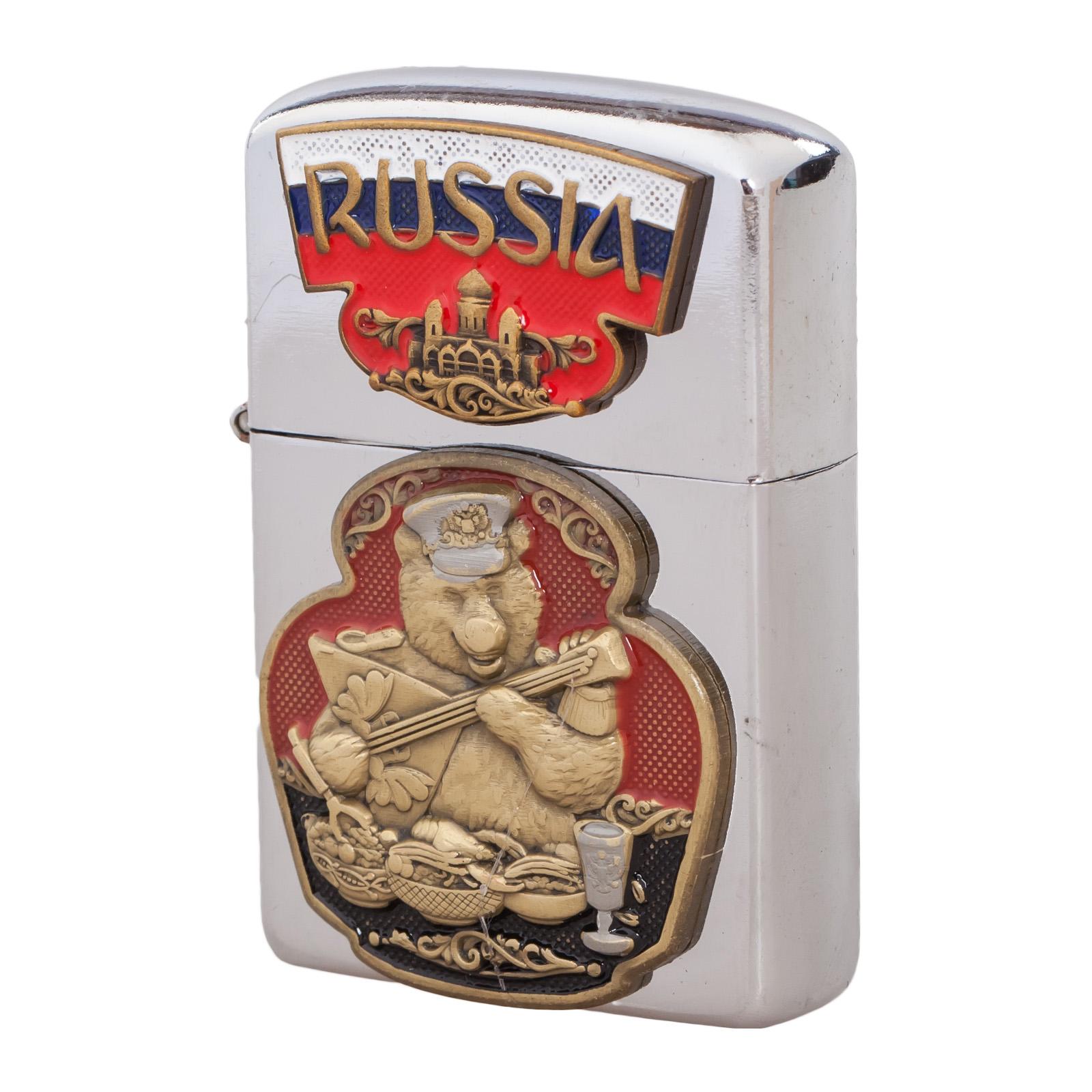 Подарочная зажигалка Русский медведь